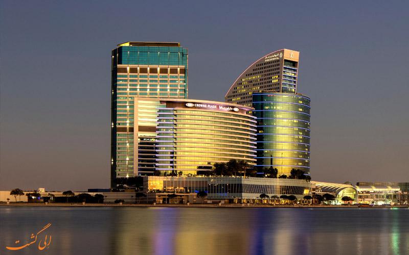 هتل-اینترکنتیننتال-فستیوال-سیتی-دبی-هتل برتر تجاری دبی