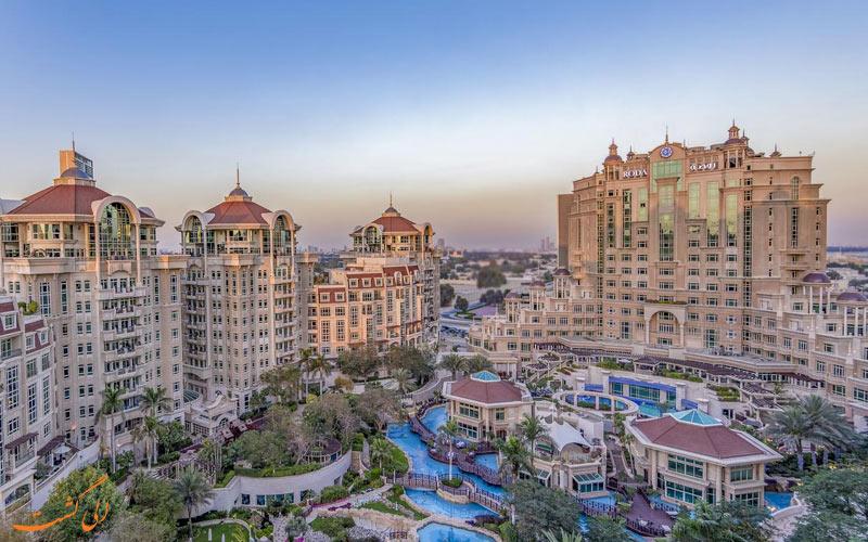 هتل و سوئیت های الموروج روتانا-هتل برتر تجاری دبی