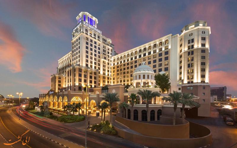 هتل-کمپینسکی-مال-امارات-دبی-هتل برتر تجاری دبی