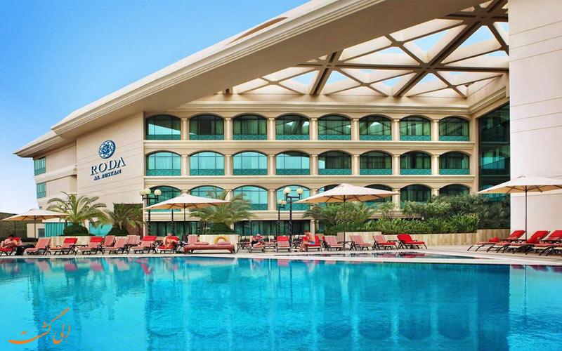 هتل آلبوستان روتانا-هتل برتر تجاری دبی