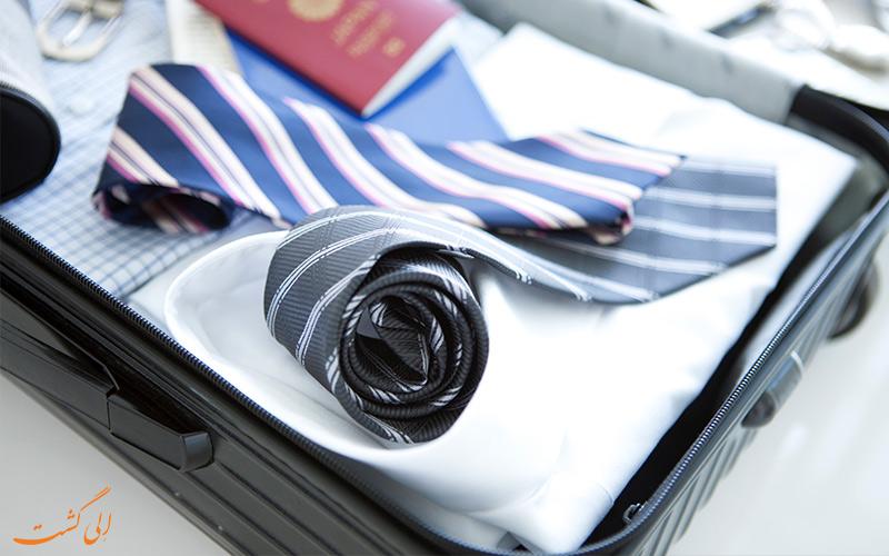 وسایل سفر-نکاتی برای مسافران تجاری