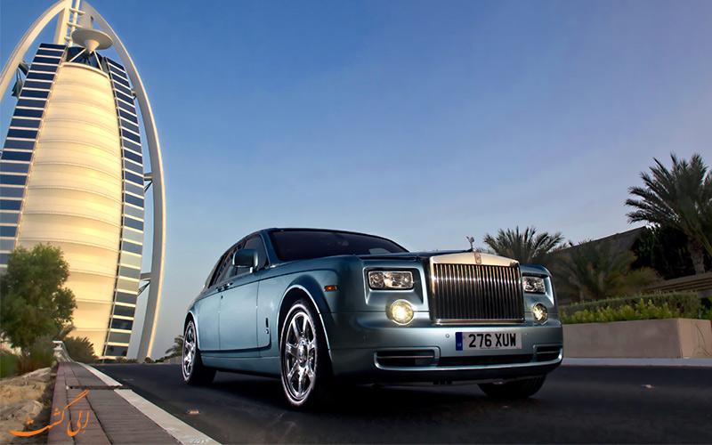 کرایه ماشین در نکات سفر به دبی