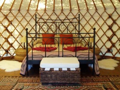The Hoopoe Yurt Hotel