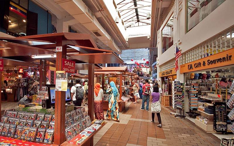 بازار مرکزی از جاذبه های گردشگری کوالالامپور
