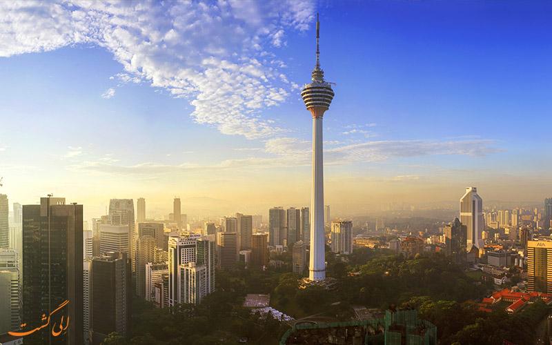 برج کی ال از جاذبه های گردشگری کوالالامپور