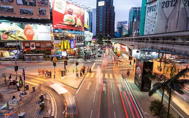 بوکیت بینتانگ از جاذبه های گردشگری کوالالامپور