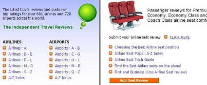 6. Skytrax Airline and Trips Reviews