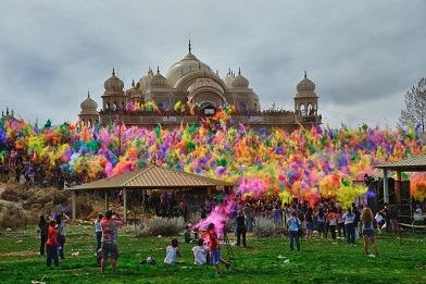جشن رنگ هولی هند