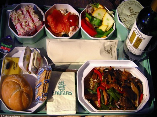 Emirates airline catering