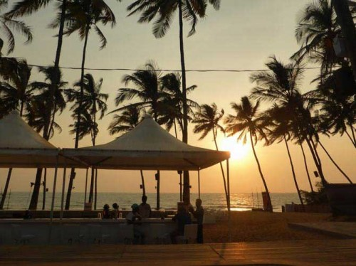 رستوران Sunset Ashram