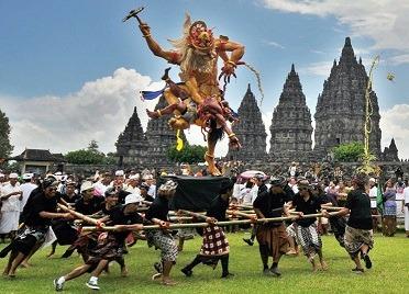 نایپی مراسم سال نوی بالی