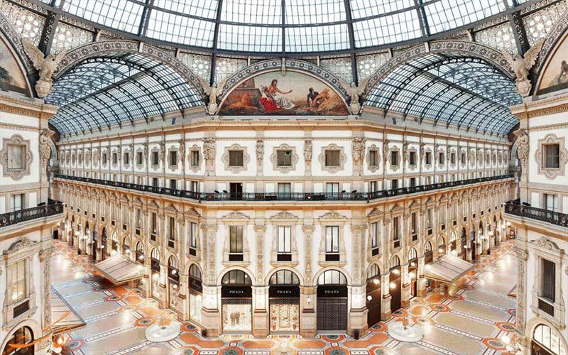 Galleria-Vittorio-Emanuele-خرید در میلان