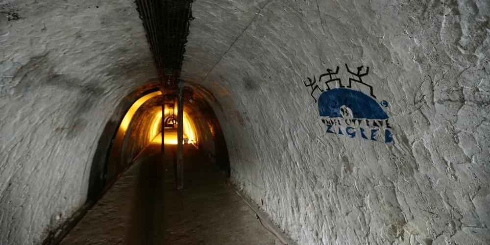 تونل جنگ جهانی دوم در زاگرب
