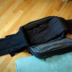 نحوه بستن چمدان