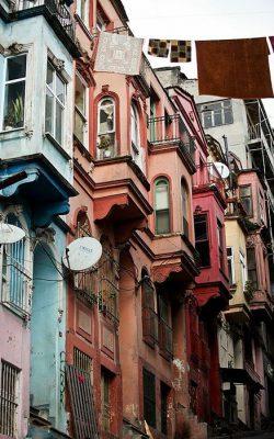 خانه های رنگی استانبول