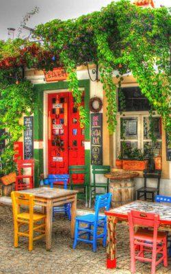 کافه ای در استانبول