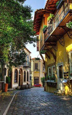 محله ای در استانبول