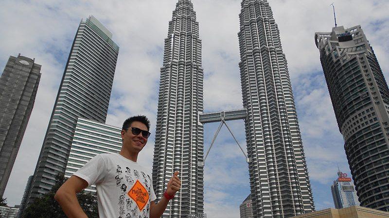 برجهای دو قلو پتروناس در کوالالامپور