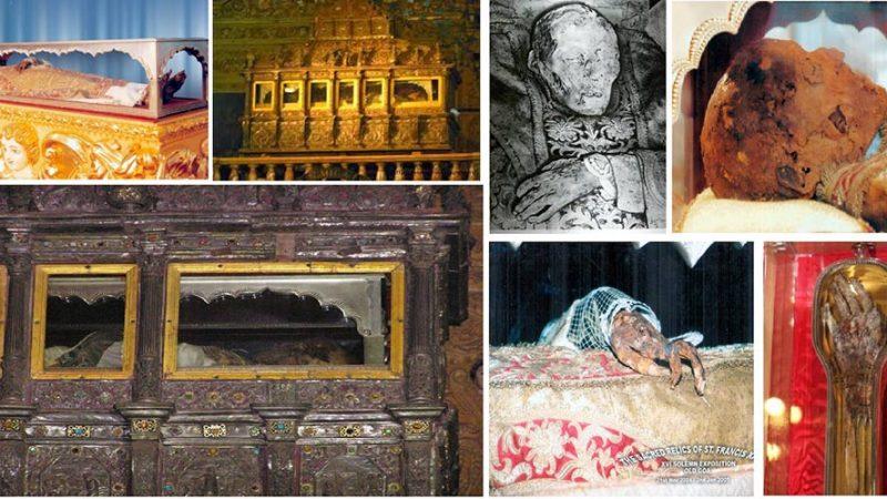 چند صحنه از مومیایی زاویر مقدس