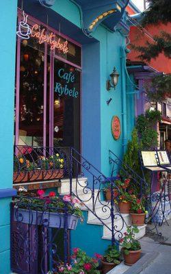 کافه های زیبای استانبول