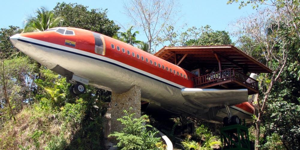 هتل هواپیمای لوکس