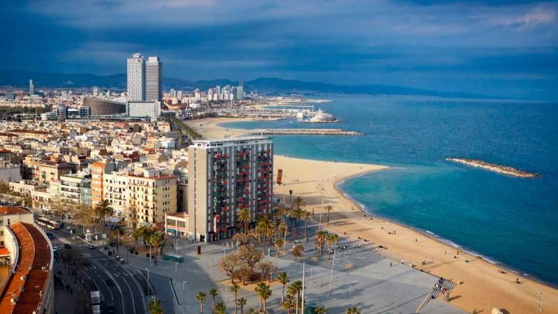 سواحل بارسلونا