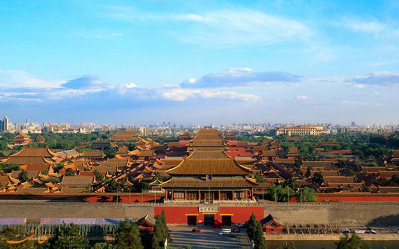 نمایی از شهر ممنوعه پکن-تور پکن و شانگهای الی گشت