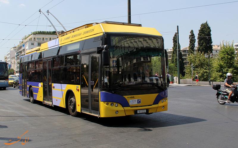 حمل و نقل در آتن