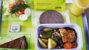 غذاهای هواپیما