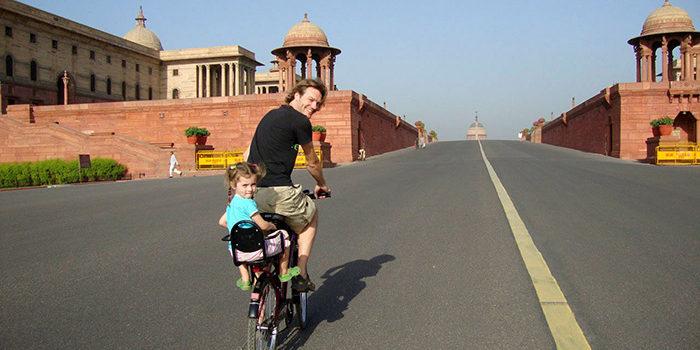 دوچرخه سواری اطراف آگرا