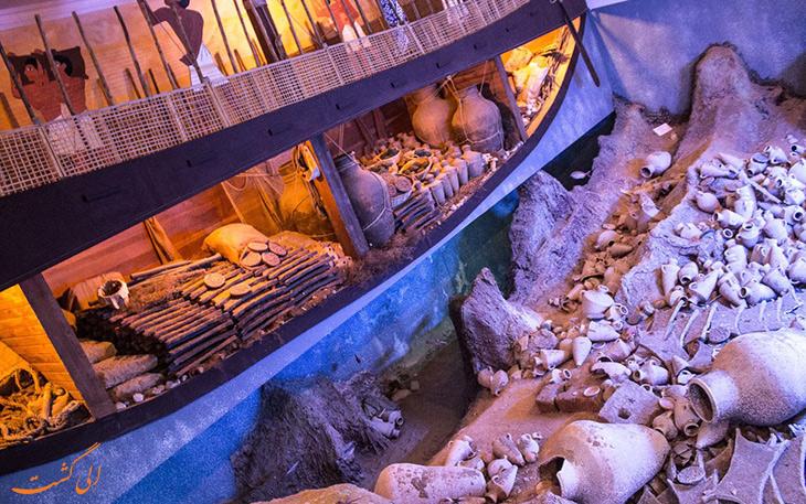 موزه آثار باستانی زیر آب