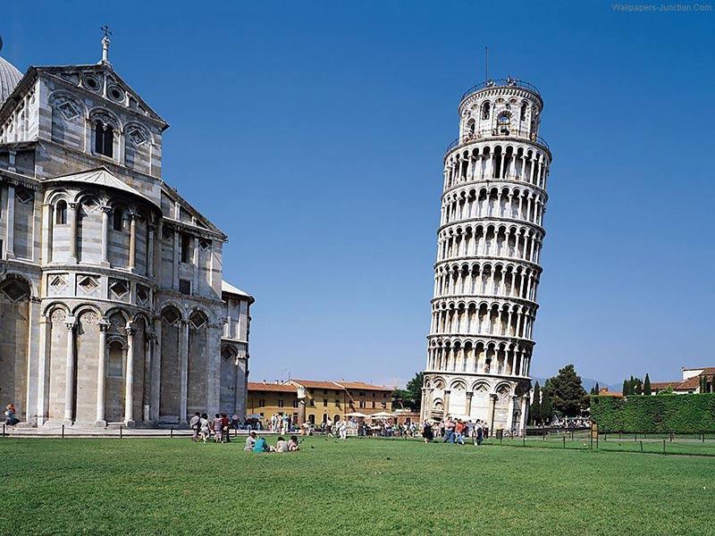چرا برج پیزا کج است؟ – الی گشت