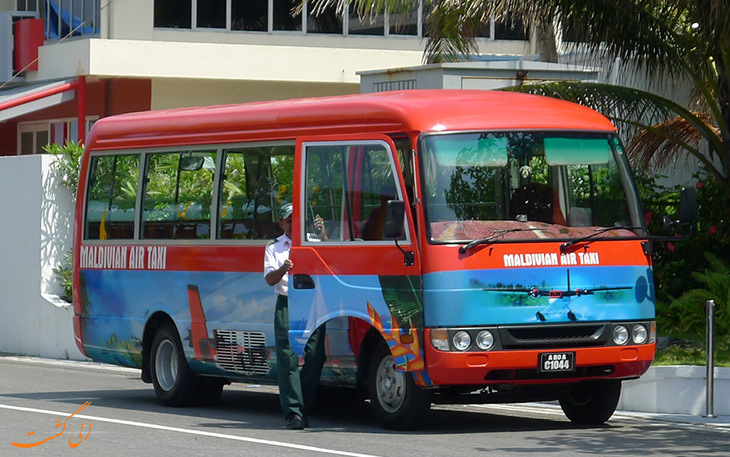 هزینه حمل و نقل در مالدیو