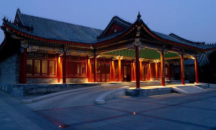 نمایی از قصر تابستانی پکن