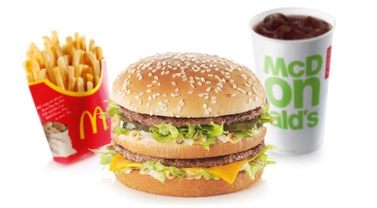 غذاهای مک دونالد