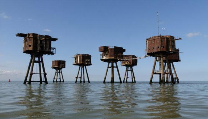 استحکامات دریایی مائونسل، انگلستان