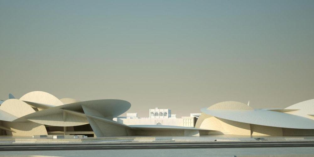 موزه ملی دوحه قطر