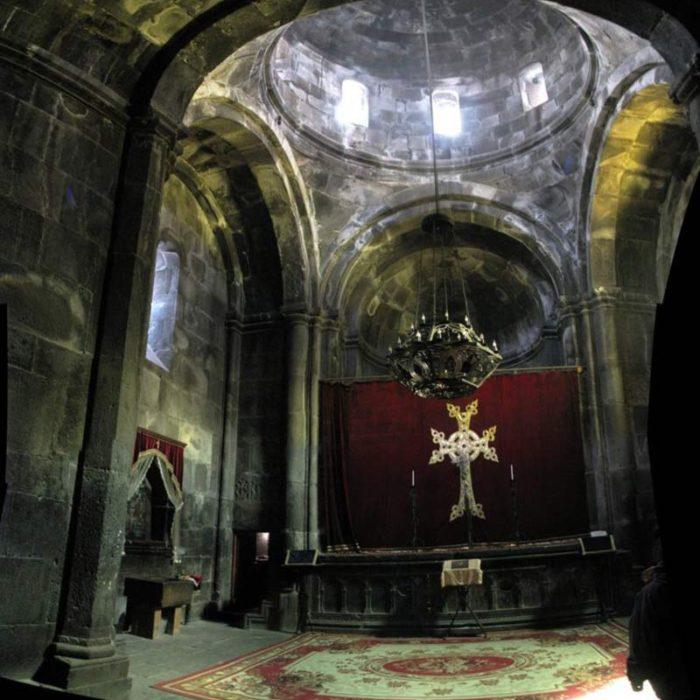 داخل کلیسای گغارد