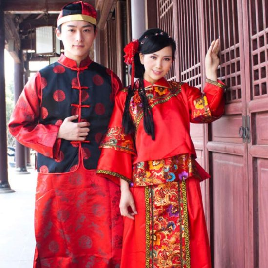 لباس چینی ها