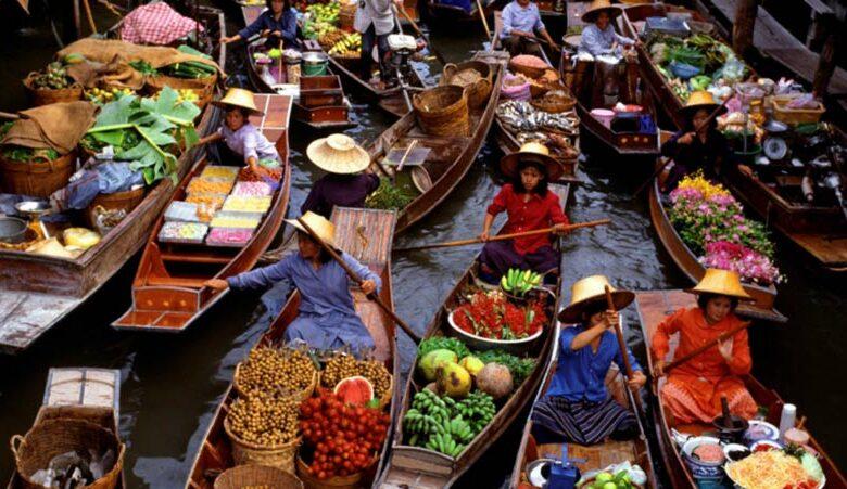 بازارهای روی آب