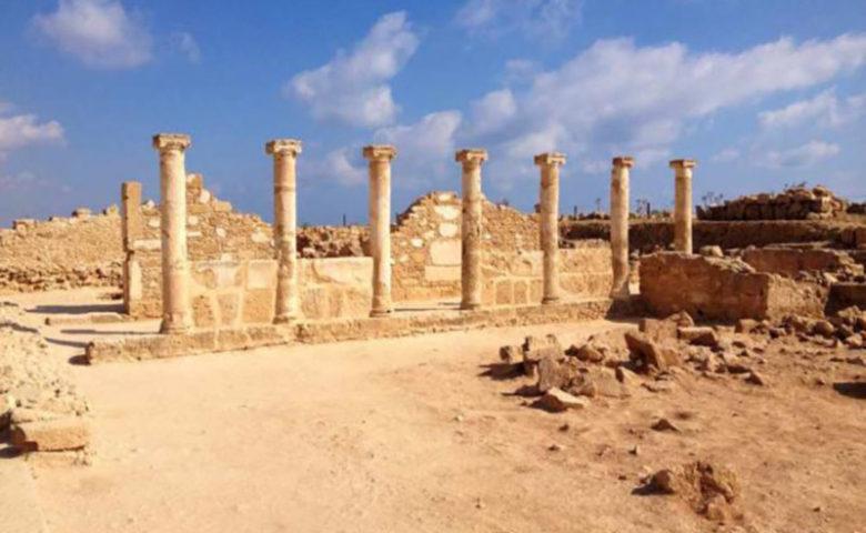The Kato Paphos Archaeological Park