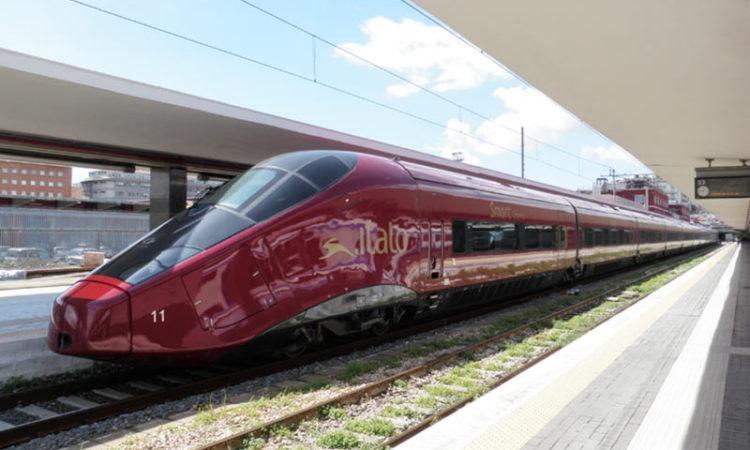 قطار در ایتالیا