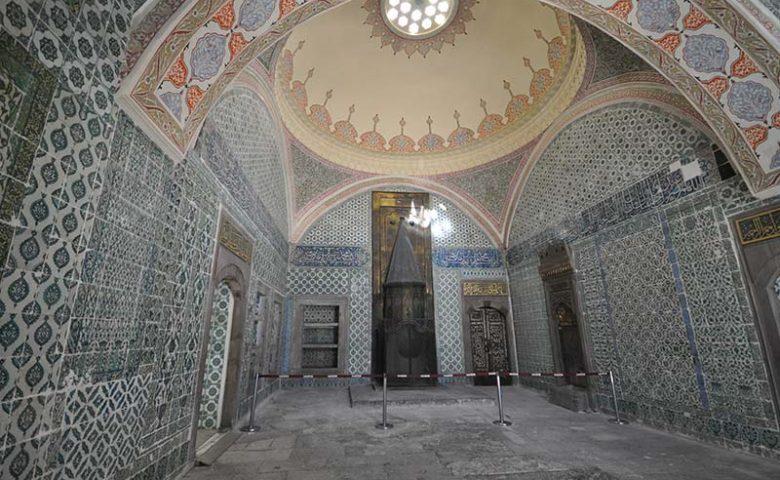 نمایی از داخل کاخ
