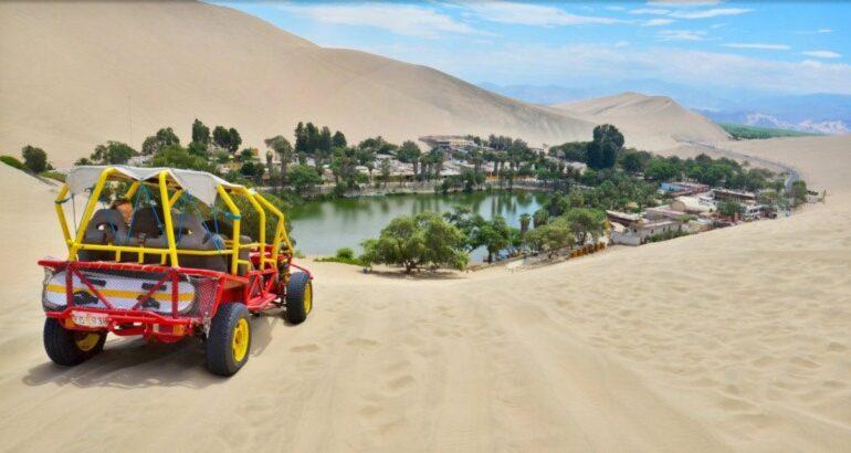 Huacachina Peruvian Desert