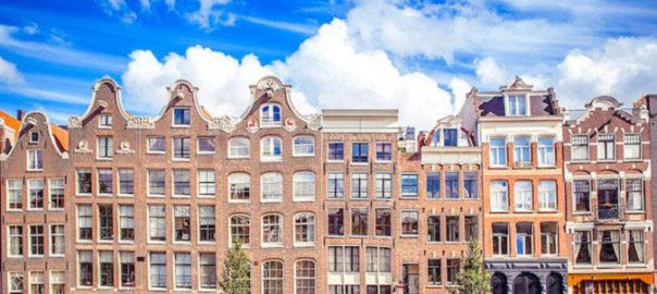 خانه های زیبای آمستردام