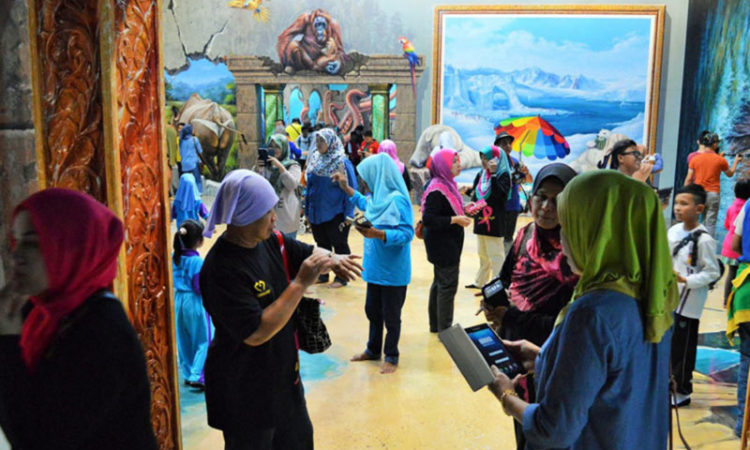 موزه سه بعدی هنر در بهشت لانکاوی