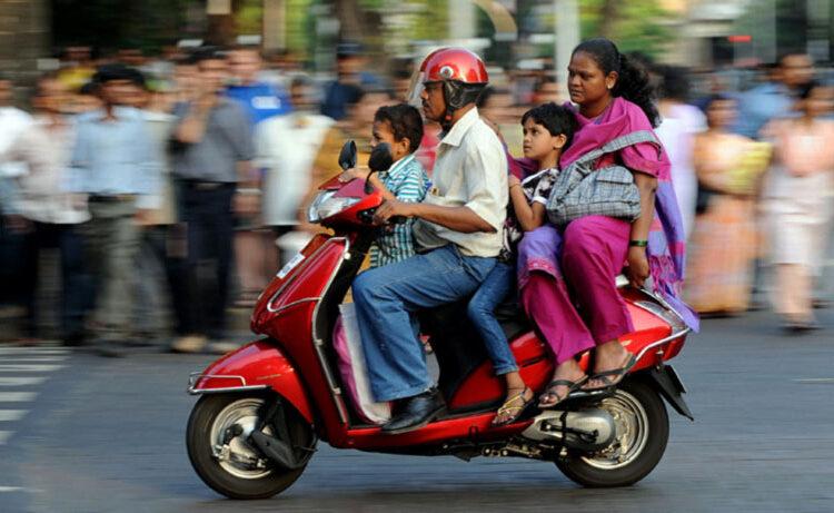 موتور سیکلت در هند