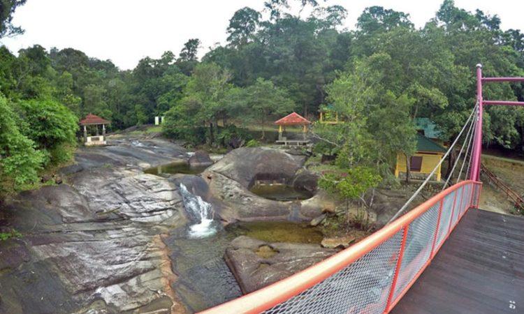 tujun waterfall