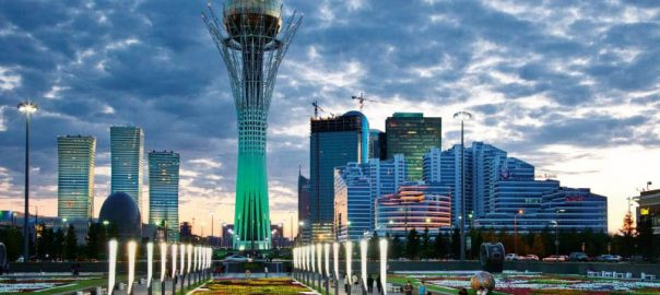 Baiterek main symbol of Astana.