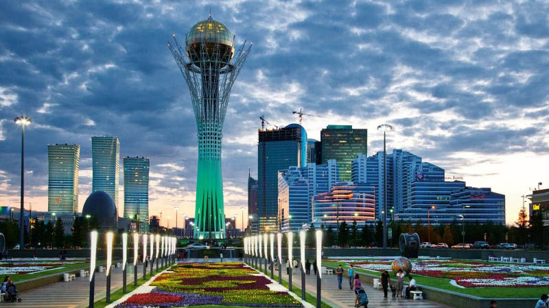 Baiterek main symbol of Astana.